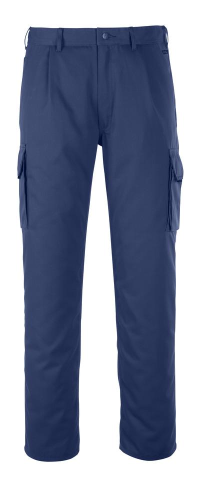 MASCOT® Orlando - blu navy - Pantaloni con tasca sulla coscia, alta resistenza all'usura