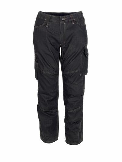 MASCOT® Ovar - nero con stampa* - Pantaloni