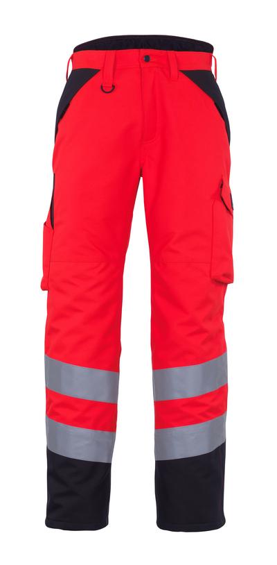 MASCOT® Palmela - rosso hi-vis/antracite scuro* - Pantaloni antifreddo