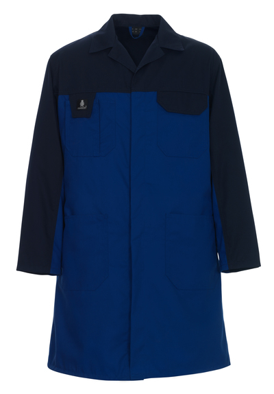 MASCOT® Parma - blu royal/blu navy - Camice da Magazzino