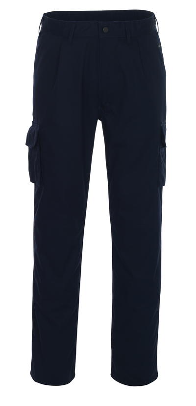 MASCOT® Pasadena - blu navy - Pantaloni con tasche porta-ginocchiere, peso ridotto