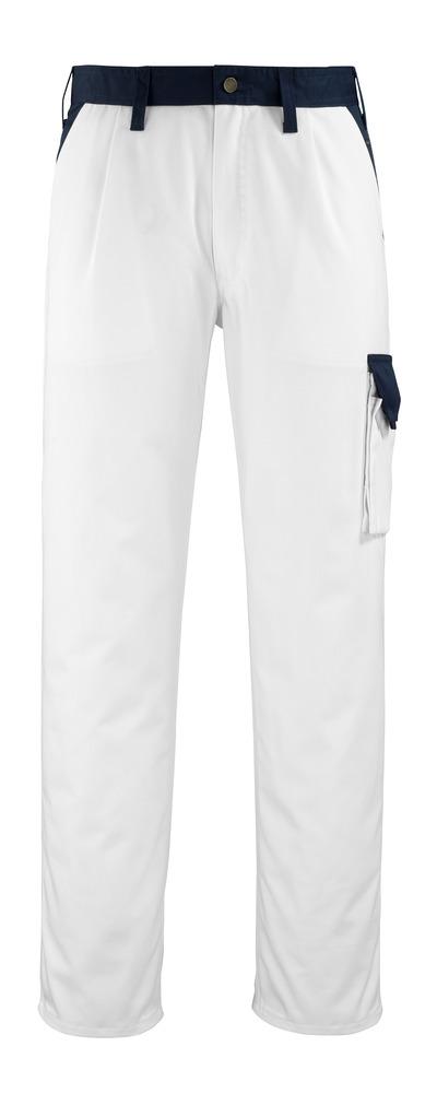 MACMICHAEL® Passos - bianco/blu navy* - Pantaloni