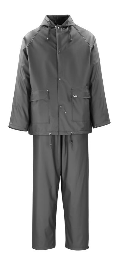 MACMICHAEL® Pavao - nero - Giacca e Pantaloni antipioggia, antivento e impermeabile
