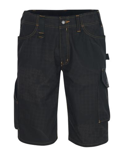 MASCOT® Pedroso - nero con stampa* - Pantalone corto