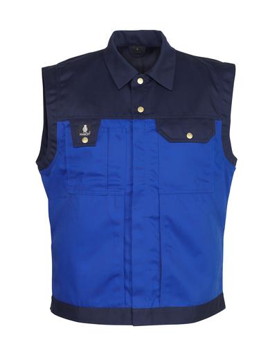 MASCOT® Prato - blu royal/blu navy - Gilet, alta resistenza all'usura