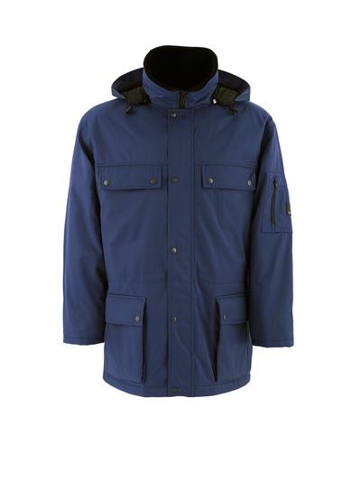 MASCOT® Quebec - blu navy - Parka con fodera trapuntata, idrorepellente Bearnylon®