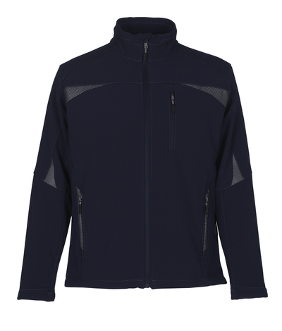 MASCOT® Ripoll - blu navy - Giacca softshell con interno in pile