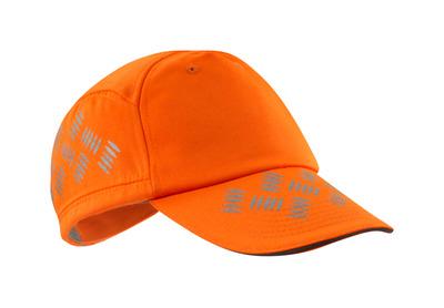 MASCOT® Ripon - arancio hi-vis - Cappello con fori di ventilazione, regolabili, profili riflettenti