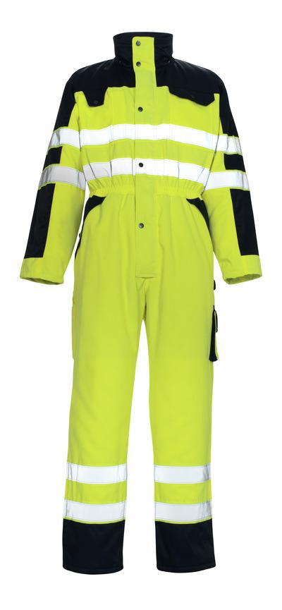 MASCOT® Riva - giallo hi-vis/blu navy* - Tuta da lavoro antifreddo