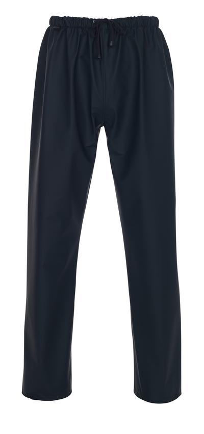 MASCOT® Riverton - blu navy - Pantaloni antipioggia
