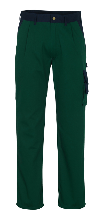 MASCOT® Salerno - verde/blu navy* - Pantaloni
