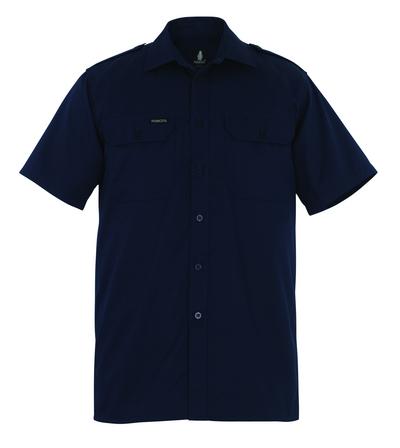MASCOT® Savannah - blu navy - Camicia, a maniche corte, taglio classico