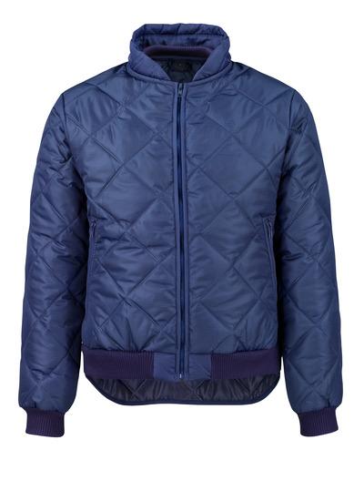 MASCOT® Sudbury - blu navy - Giacca termica con tasche anteriori con chiusura lampo