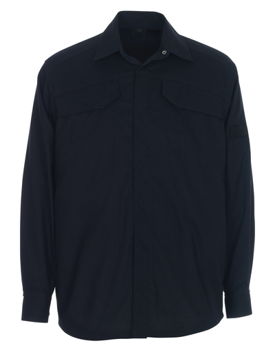 MASCOT® Ternitz - blu navy scuro - Camicia, multiprotezione, outfit moderno