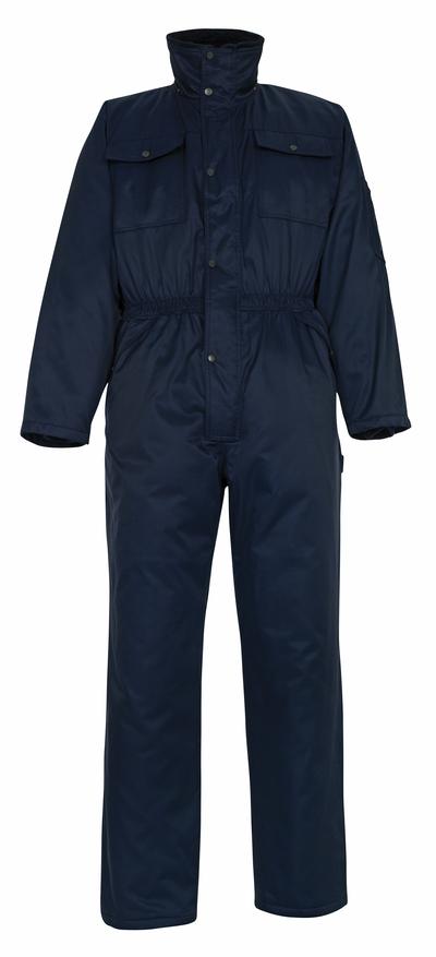 MASCOT® Thule - blu navy - Tuta da lavoro antifreddo con fodera in pile, idrorepellente Bearnylon®