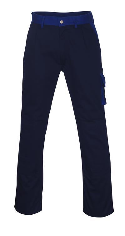 MASCOT® Torino - blu navy/blu royal - Pantaloni con tasche porta-ginocchiere, alta resistenza all'usura