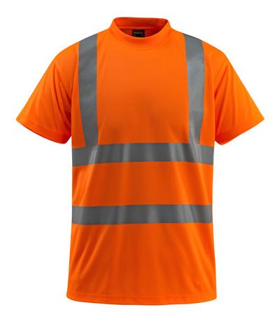MASCOT® Townsville - arancio hi-vis - Maglietta, taglio classico, classe 2