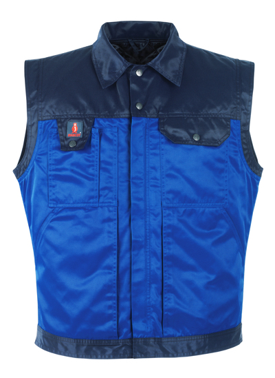 MASCOT® Trento - blu royal/blu navy - Gilet antifreddo con inserto trapuntato staccabile, idrorepellente