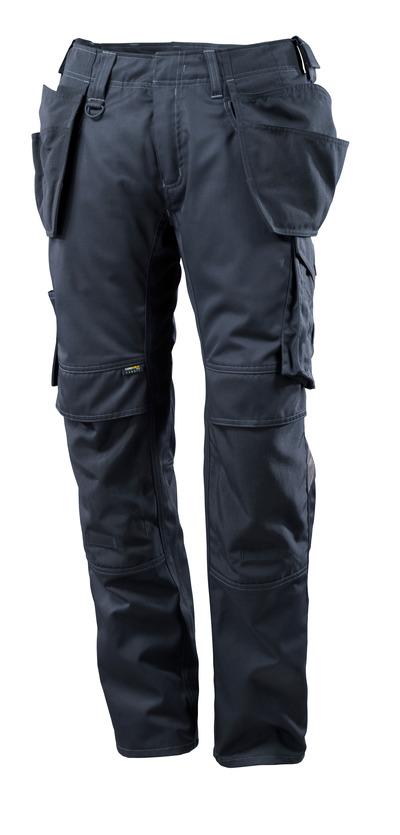 MASCOT® UNIQUE - blu navy scuro - Pantaloni con tasche esterne, lightweight.