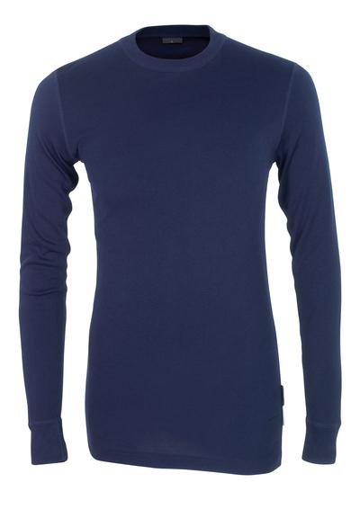 MASCOT® Uppsala - blu navy - Sottomaglia tecnica, traspirante, asciuga rapidamente