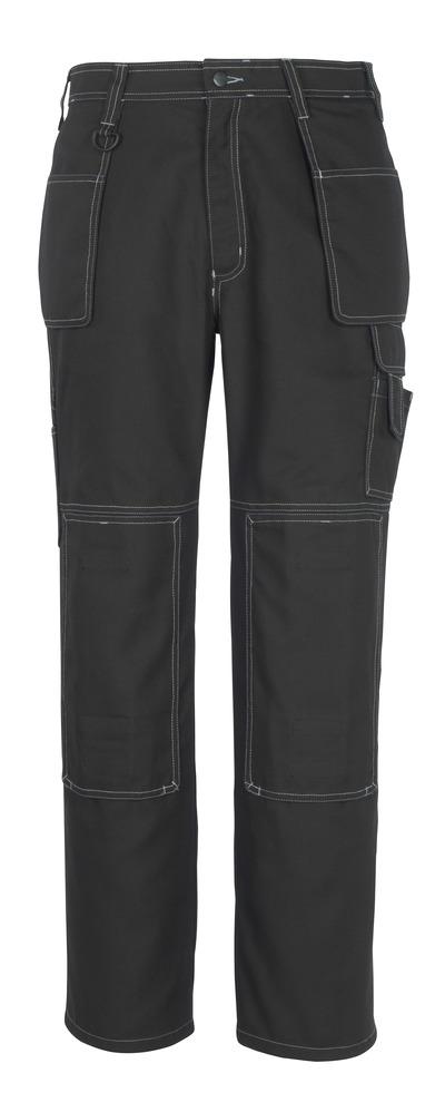 MACMICHAEL® Valera - nero* - Pantaloni con tasche porta-ginocchiere e tasche esterne