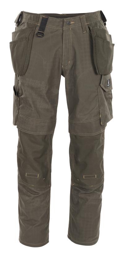 MASCOT® Velho - verde oliva scuro con stampa* - Pantaloni