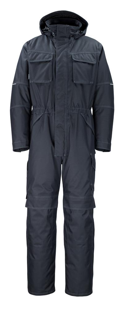 MASCOT® Ventura - blu navy scuro - Tuta da lavoro antifreddo con fodera in pile, impermeabile