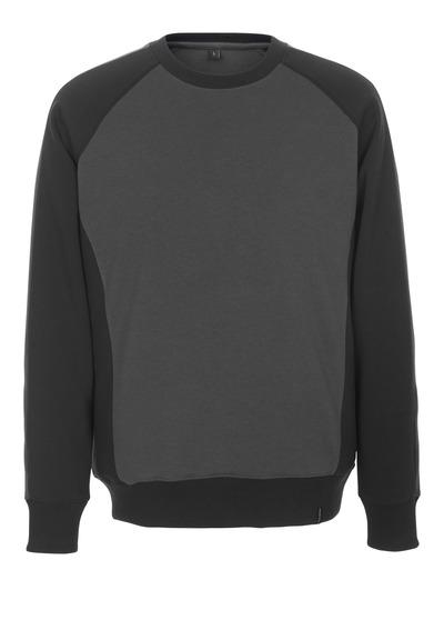 MASCOT® Witten - antracite scuro/nero - Felpa, outfit moderno