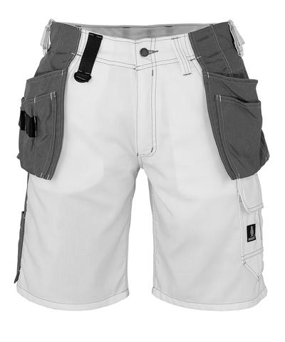 MASCOT® Zafra - bianco - Pantaloni Corti con tasche esterne